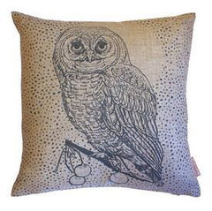 Owl & Moon Cushion, Jen Rowland Alternate View
