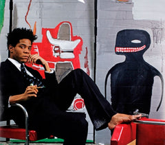 Studio Portrait, Jean-Michel Basquiat Alternate View