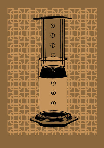 Aeropress (Brown), Eliza Southwood