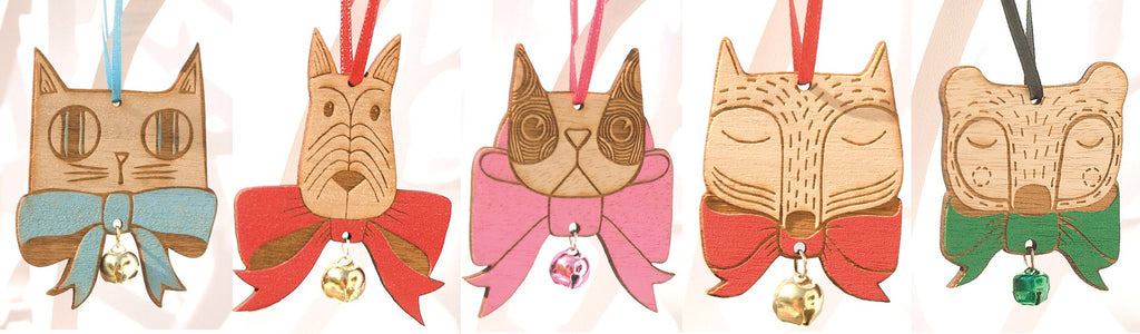 Bow Tie Animal Decorations, Small Stories - CultureLabel - 1