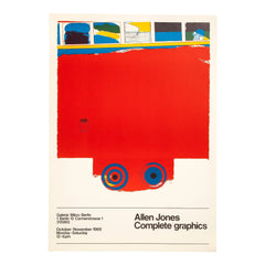 Allen Jones Print Complete Graphics 1969, Allen Jones