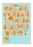 Star Wars Alphabet (Framed), The Designers Nursery - CultureLabel