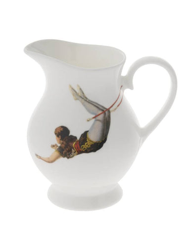 Trapeze Girl Cream Jug, Melody Rose