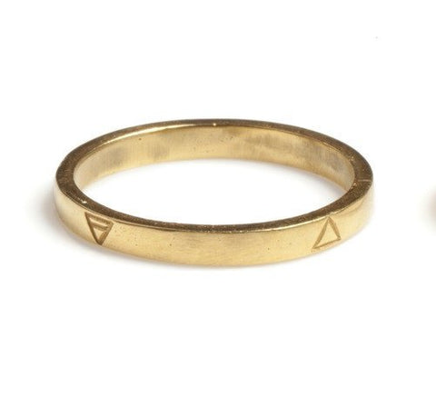 Gold Four Elements Ring, Rachel Entwistle - CultureLabel - 1