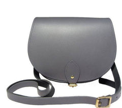The Pencil Grey Saddle Bag, N'Damus