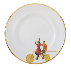 Highwire Bone China Plate, Melody Rose
