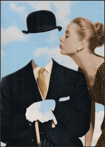 Kissing Magritte, Joe Webb - CultureLabel - 1