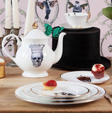 Skull in Crown Teapot, Melody Rose - CultureLabel