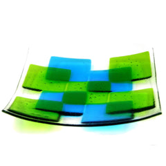 Fusion Fused Glass Bowl - Large, RD Glass