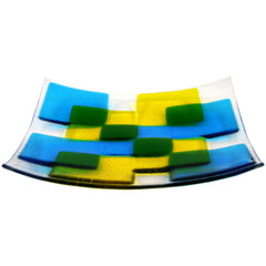 Fusion Fused Glass Bowl - Large, RD Glass Alternate View