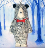 Walter Bear Christmas Tree Decoration, Jimbobart - CultureLabel - 2