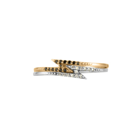 Lightning Bolt Diamond Ring, No 13 - CultureLabel - 1