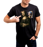 CultureLabel Collective: Mona Lisa & The Girl With The Pearl T-Shirt - CultureLabel - 3