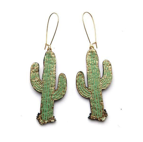 Cactus Earrings, Rosita Bonita - CultureLabel - 1