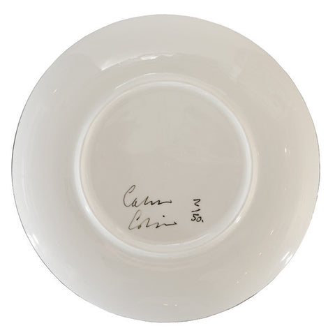 Calum Colvin Limited Edition Plate, National Galleries of Scotland Alternate View