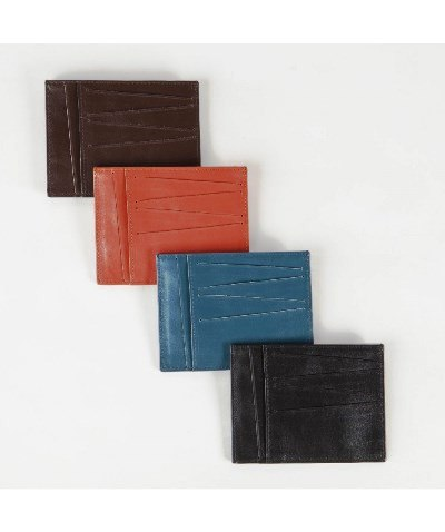 Leather City Card Holder Large, Volte Face - CultureLabel - 1