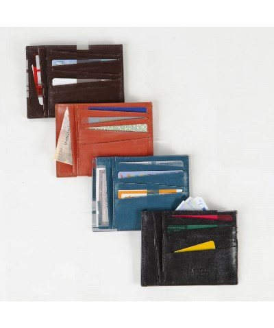 Leather City Card Holder Large, Volte Face Alternate View