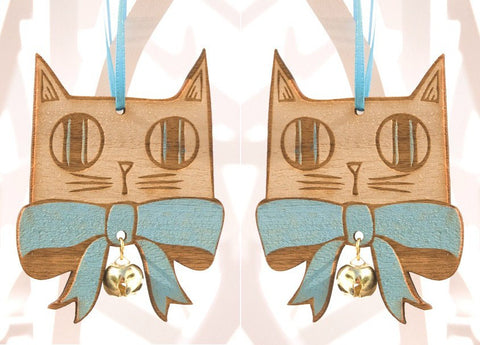 Bow Tie Cat Pair, Small Stories - CultureLabel