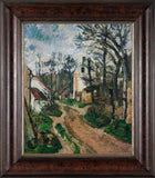 Road at Auvers-Sur-Oise by Paul Cezanne 3d Reproduction, Verus Art - CultureLabel - 2