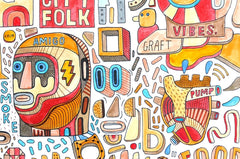 City Folk, David Shillinglaw Alternate View