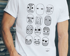 You Are Here Unisex T-Shirt, David Shillinglaw x Mind Alternate View
