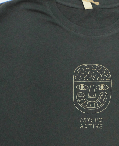 Psycho Active T-Shirt, David Shillinglaw