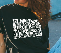 Blah Blah Blah Unisex T-Shirt, David Shillinglaw x Mind Alternate View