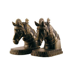 Assyrian Horse bookends, The British Museum