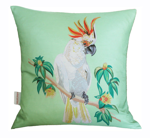 Cockatoo Cushion, Chloe Croft