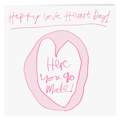 Happy Love Heart Day Card, ARTHOUSE Meath - CultureLabel - 1
