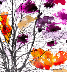 Copper Beech Web Purple and Pink, Rob Wass Alternate View