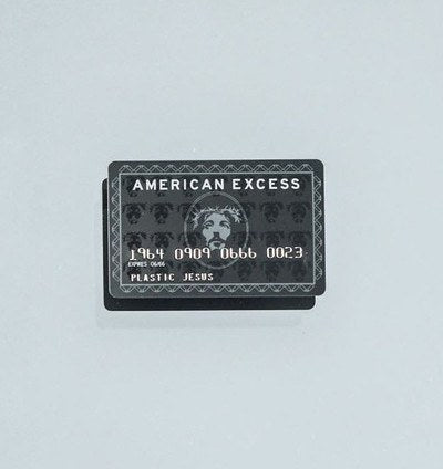 American Excess - The Black Card, Plastic Jesus Alternate View