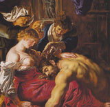Samson and Delilah Silk Pocket Square, The National Gallery - CultureLabel - 2