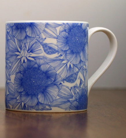 Victoria Blue Mug Set, Camilla Meijer Alternate View