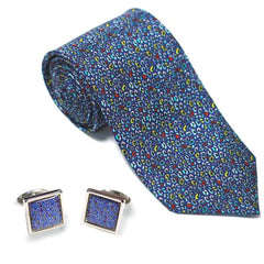 Cufflink and Tie Set by Rupert Newman
