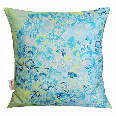 Hydrangea Lime Cushion, Chloe Croft - CultureLabel