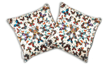 Butterfly Kaleidoscope Silk Cushion Cover, Kristjana S Williams - CultureLabel - 2