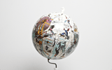 East Meets West Lundunar Kort Globe, Kristjana S Williams - CultureLabel - 4