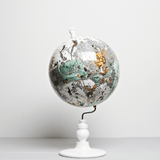 East Meets West Lundunar Kort Globe, Kristjana S Williams - CultureLabel