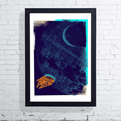 Framed Death Star Gateway, The Designers Nursery