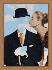 Kissing Magritte, Joe Webb Alternate View