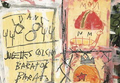 Untitled (Helmets), Jean-Michel Basquiat Alternate View