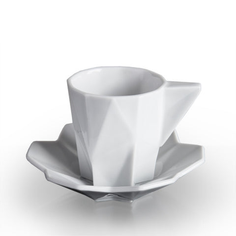 Lilia Espresso Cup and Saucer, Lauriger