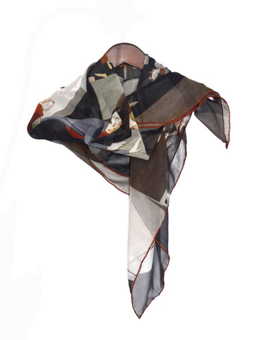 The Deluge Silk Scarf, Dulwich Picture Gallery - CultureLabel - 1
