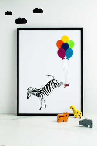 The Flying Zebra, Hello Geronimo