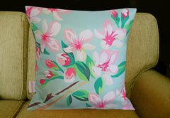 Flowers Folly Cushion, Chloe Croft Alternate View