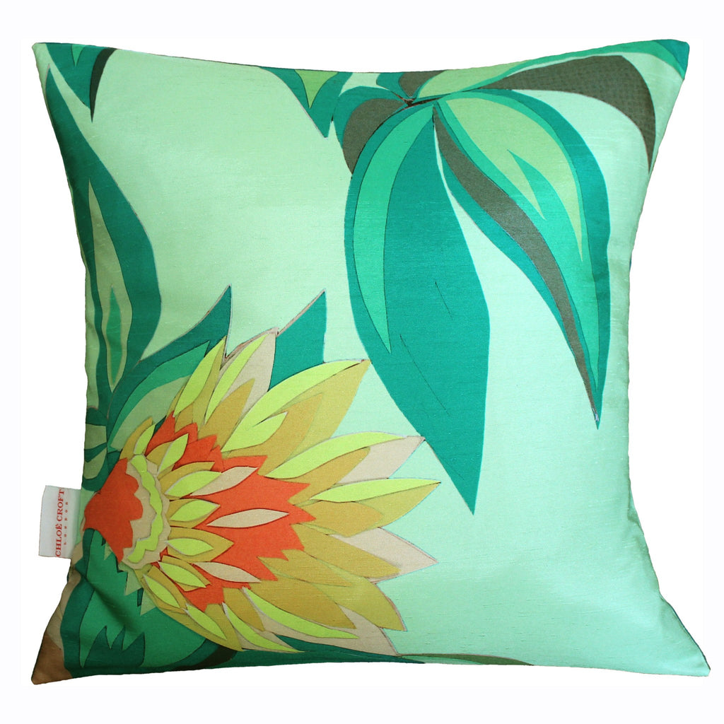 Tropical Flowers Cushion, Chloe Croft - CultureLabel - 1 (full view)