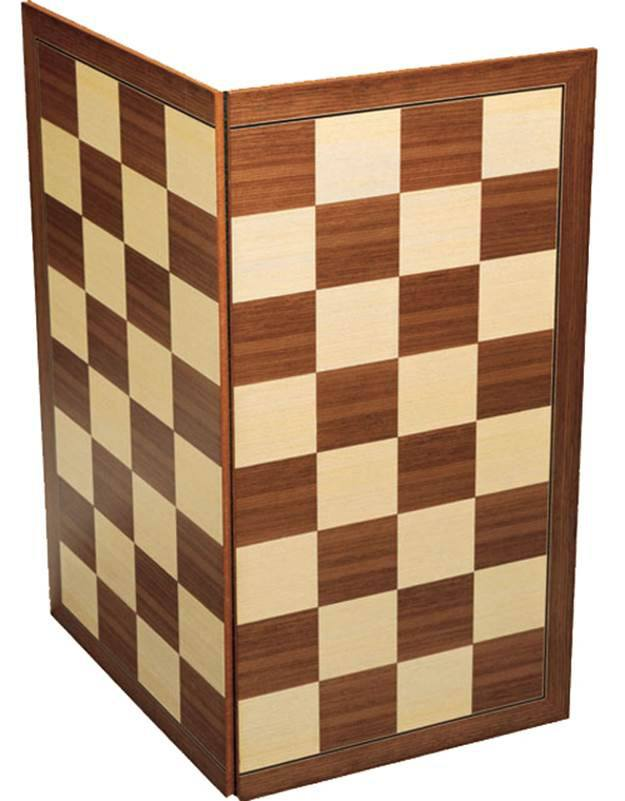 Folding Wooden Chess Board, National Museum of Scotland - CultureLabel - 1