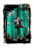 Forest Moon (Framed), The Designers Nursery - CultureLabel
