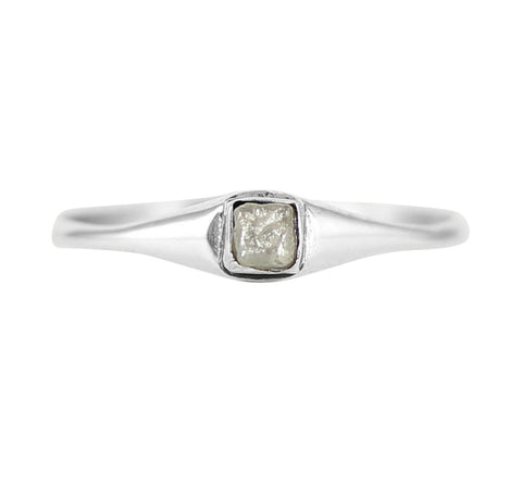 Rough Diamond Cube Ring, No 13 - CultureLabel - 1